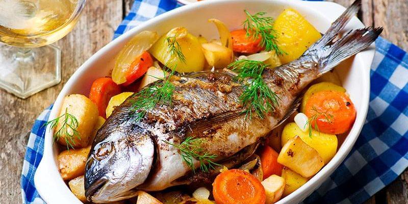 рыба блюдо из рыбы