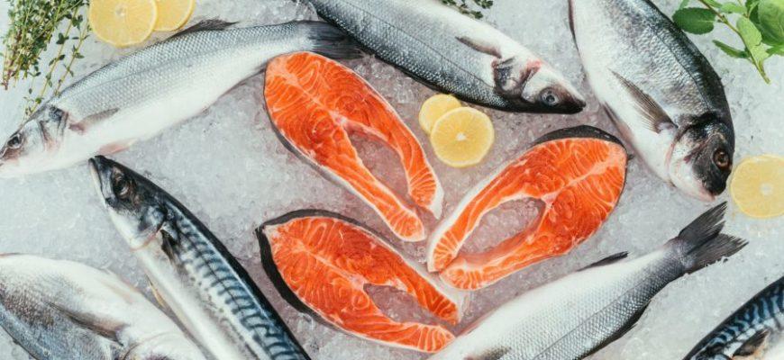 рыба морска и речная
