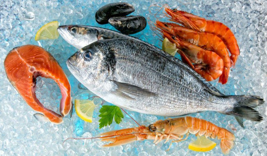 рыба разная
