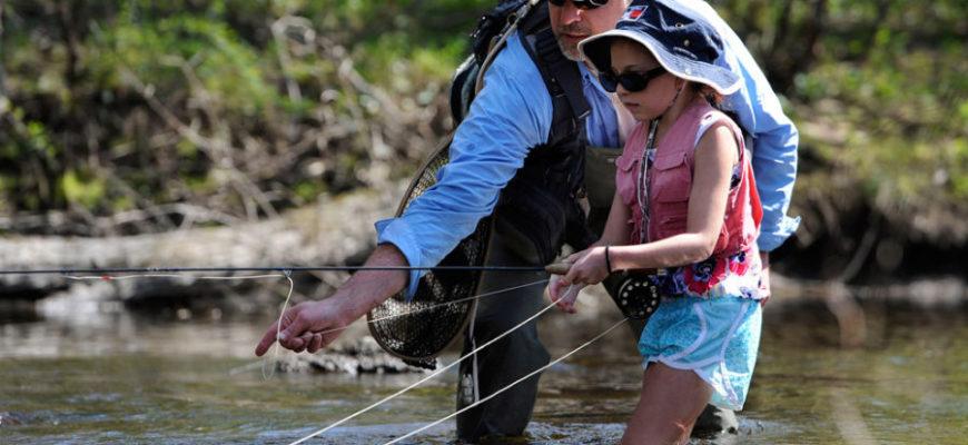 рыбалка ребенок