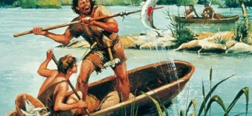 рыбалка в древние времена