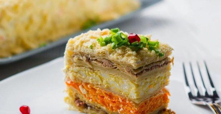 рыбного торта